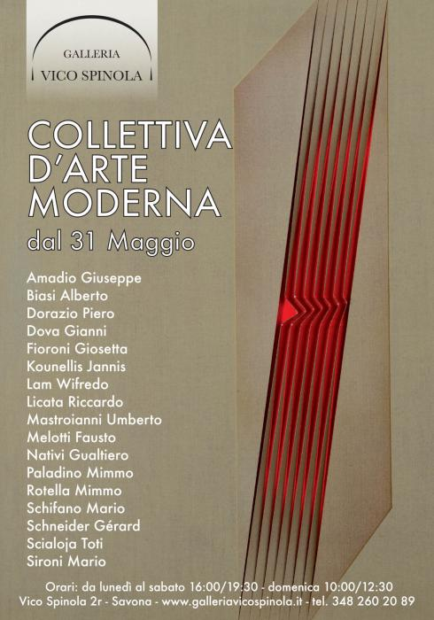 Collettiva d'arte moderna